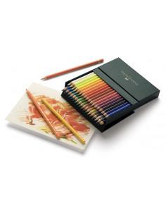 Creioane Colorate Faber-Castell Polychromos, 36 Culori, Cutie Studio