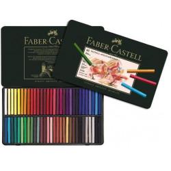 Creioane Pastel Faber-Castell Polychromos, 60 Culori