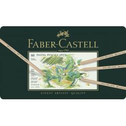 Creioane Pastel Faber-Castell Pitt, 60 Culori