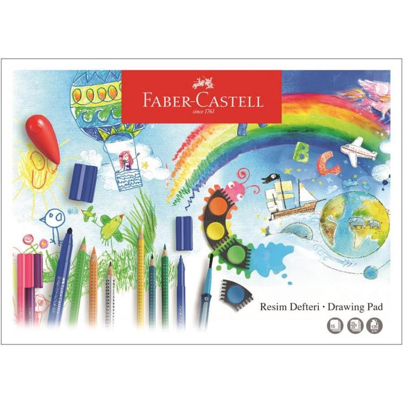 Bloc Desen A3 15 File 120 G/Mp Faber-Castell
