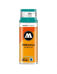 Spray Acrilic One4All™ Molotow, 400 Ml, Lagoon Blue