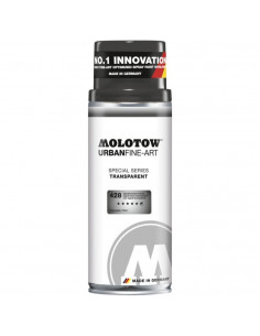 Spray Ufa Transparent Molotow, 400 Ml, Signal Black