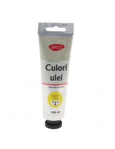 Culori ulei Daco 100 Ml Galben Citron  Cu4100Gct