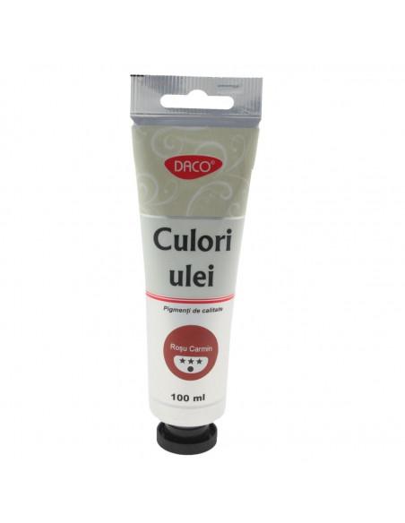 Culori ulei Daco 100 Ml Rosu Carmin Cu4100Rc