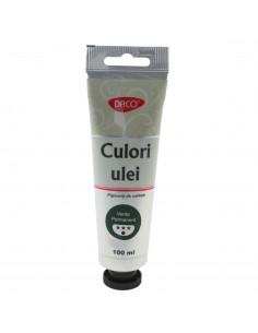 Culori ulei Daco 100 Ml Verde Permanent  Cu4100Vp