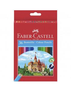 Creioane Colorate Eco Faber-Castell, 36 culori