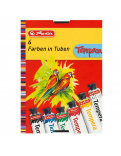 Tempera Herlitz, 16 ml 6 Culori/Set