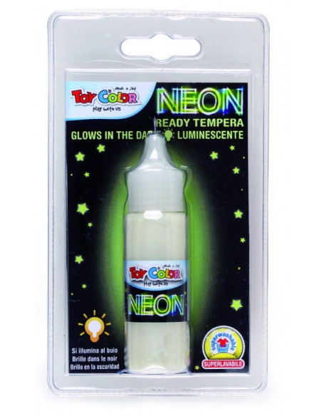 Tempera Toy Color Neon fluorescenta, 25ml
