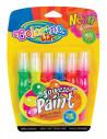Set tempera in tub Colorino cu perie, culori neon, 6 bucati