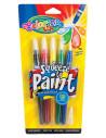 Set tempera in tub Colorino cu pensula, culori pastel, 5 bucati