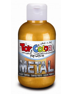 Tempera metalizata Toy Color, 250ml