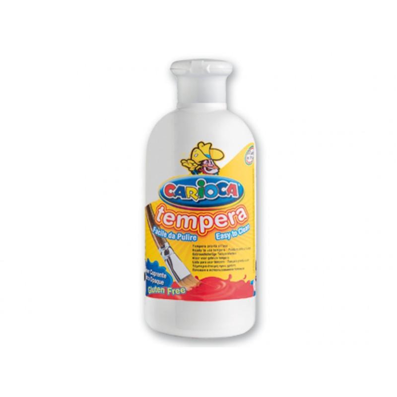 Ready tempera Carioca, 500 ml, Alb