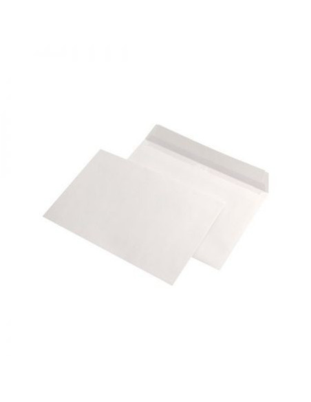 Plic C5(162x228mm) alb, siliconic, 90g/mp, deschidere pe latura