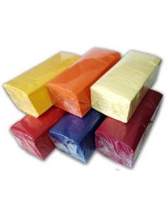 Servetele masa, 33 cm x 33 cm, 2 straturi, 200 buc/set, diverse culori