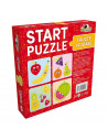 Fructe Voioase, Puzzle 4 In 1 Noriel, 25 Piese