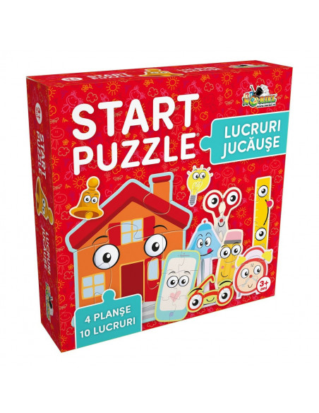 Lucruri Jucause, Puzzle 4 In 1 Noriel, 37 Piese