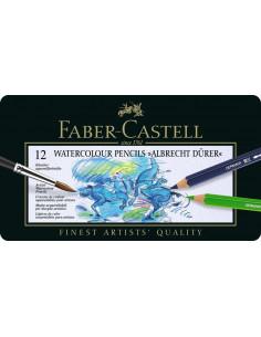Creioane colorate Faber-Castell Acuarela A.Durer, 12 culori