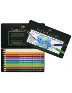 Creioane colorate Faber-Castell Acuarela A.Durer, 36 culori, cutie metal