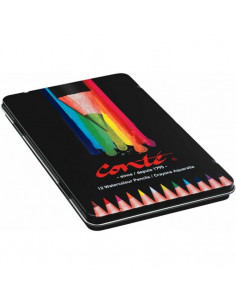 Creioane colorate BIC Conte, 12 buc/set
