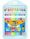 Coloring Pachet Mixt BIC: Creioane colorate -12, Markere de