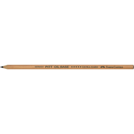 Creion Ulei Pastel Pitt Faber-Castell Extra Dur, Negru