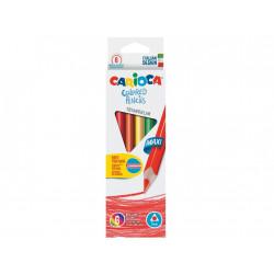 Creioane color triunghiulare Maxi 6/set