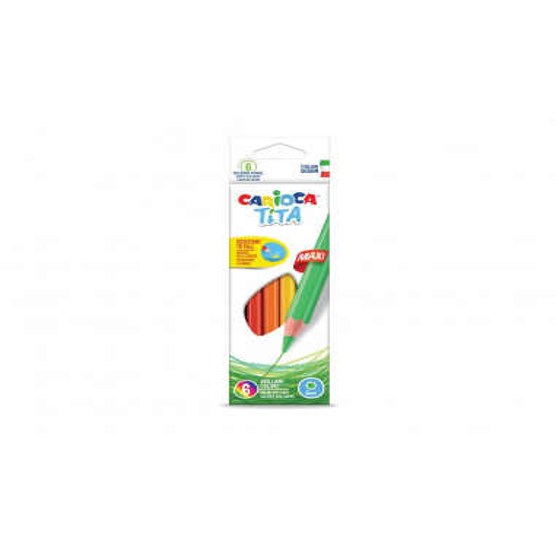 Creioane color Tita Maxi 6/set