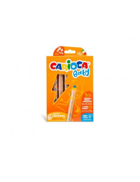 Creioane color 3:1 Baby 1+ 6/set