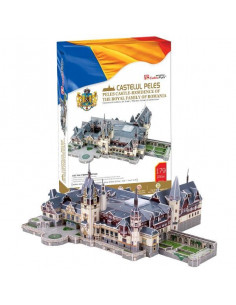 Romania Puzzle Cubic Fun Castelul Peles 3D, 179 De Piese