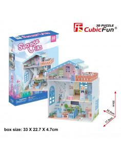 Puzzle Cubic Fun Colectia Casuta Papusilor Vila De La Mare 3D