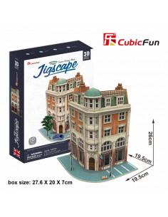 Puzzle Cubic Fun 3D Colectia Jigscape Banca 3D, 94 De Piese