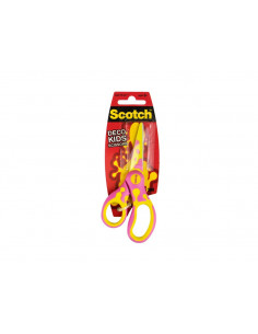 Foarfeca Scotch Deco, 13 cm, Roz