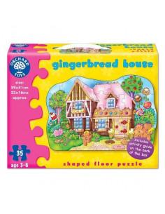 Puzzle Orchard Toys De Podea Casuta De Turta Dulce Gingerbread