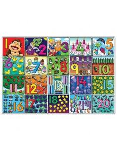 Puzzle Orchard Toys De Podea Invata Numerele De La 1 La 20 Big