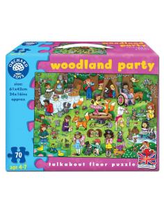 Puzzle Orchard Toys De Podea Petrecerea Din Padure Woodland