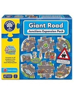 Puzzle Orchard Toys Gigant De Podea Intersectii Giant Road