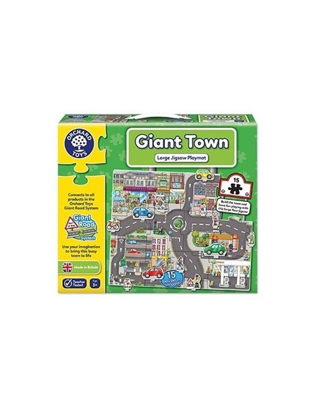 Puzzle Orchard Toys Gigant De Podea Orasul Giant Town Jigsaw