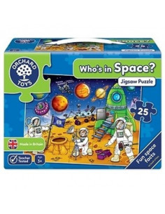 Puzzle Orchard Toys Spatiul Cosmic Who'S In Space,25 Piese