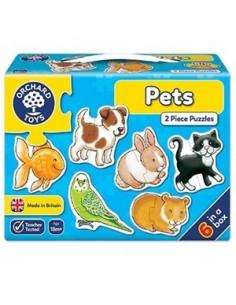 Set 6 Puzzle Orchard Toys Animale De Companie Pets,2 Piese