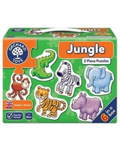 Set 6 Puzzle Orchard Toys Jungla Jungle, 2 Piese