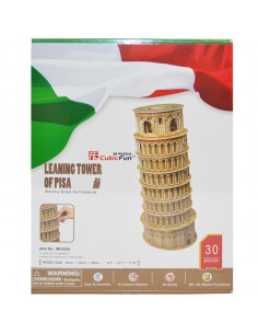Puzzle 3D Tower Of Pisa, 30 Piese