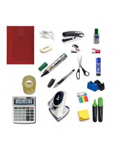 Set Birou 1 - Agenda, Calculator, Perforator, Capsator, Capse