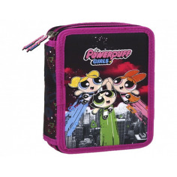 Set Scoala Powerpuff Girls 2 - Ghiozdan, Penar Echipat, Etui