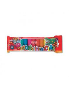 Plastilina Koh-I-Noor, 10 Culori, 200 G