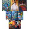 Set 12 buc coperti carte Disney diverse modele pentru baieti