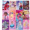 Set 20 bucati coperta caiet Disney diverse modele pentru fete +