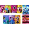 Set 12 buc coperti carte Disney diverse modele pentru fete