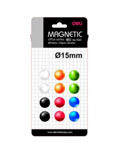 Magneti Whiteboard Deli 15mm 12 Buc/Set