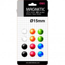 Magneti Whiteboard Deli 15mm 12 Buc/Set