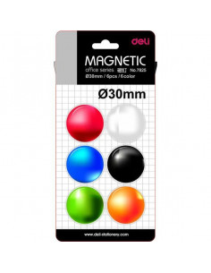 Magneti Whiteboard Deli 30mm 6 Buc/Set
